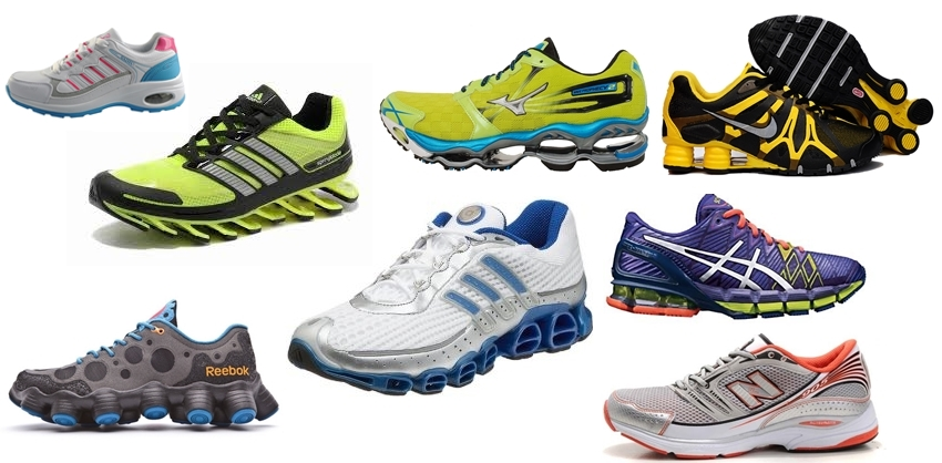 Thick Cushion Heeled Running Shoes Impairs Running Form