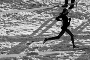 forefoot running makes winter running safer