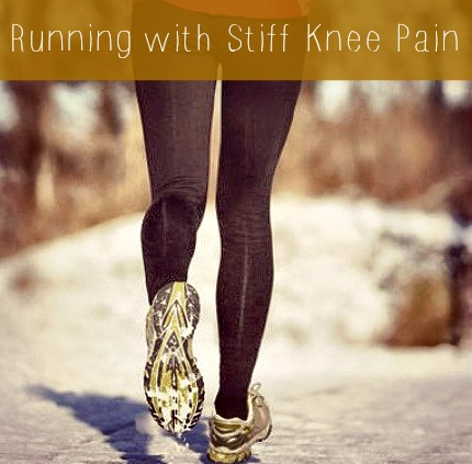 Running with Stiff Knee Pain
