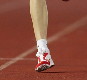 Forefoot running is not toe running forefoot strike ball of foot not high up on toes