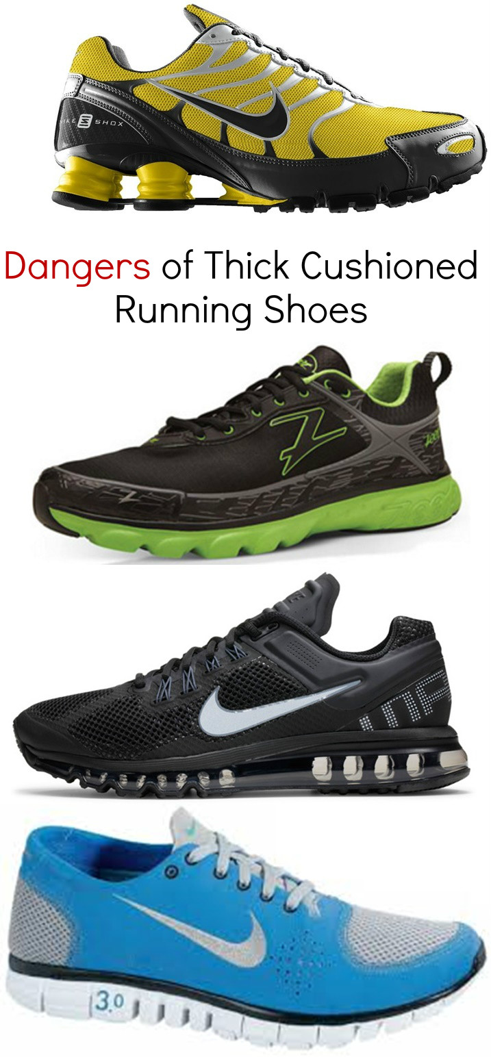 Why Avoid Wearing Thick Cushioned Running Shoes When Learning Forefoot  Running 9534b62c1e98