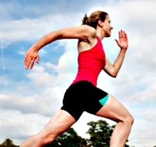 Arm swing, not important in forefoot running