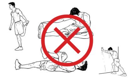 Pre-Run Stretching Bad