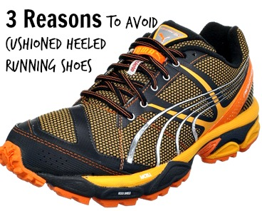 3 Reasons to Avoid Cushioned Heeled Running Shoes When Forefoot Running