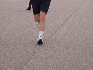 Heel Strike Running Increases Risk of Stress Bone Fracture