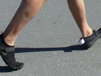 Dangers of Heel Striking in a Minimalist Running Shoe