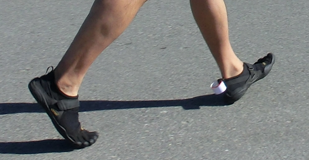 Dangers of Heel Striking in a Minimalist Running Shoe
