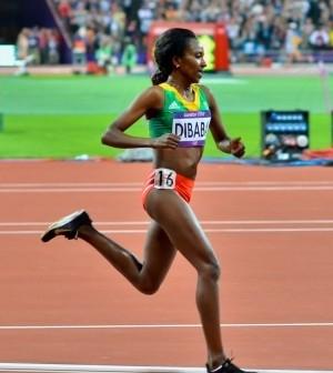 Tirunesh Dibaba Running Form