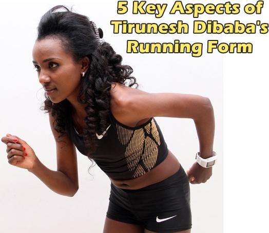 Tirunesh Dibaba Running