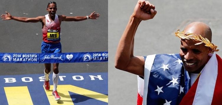 Meb Keflezighi foot strike helped him win boston marathon