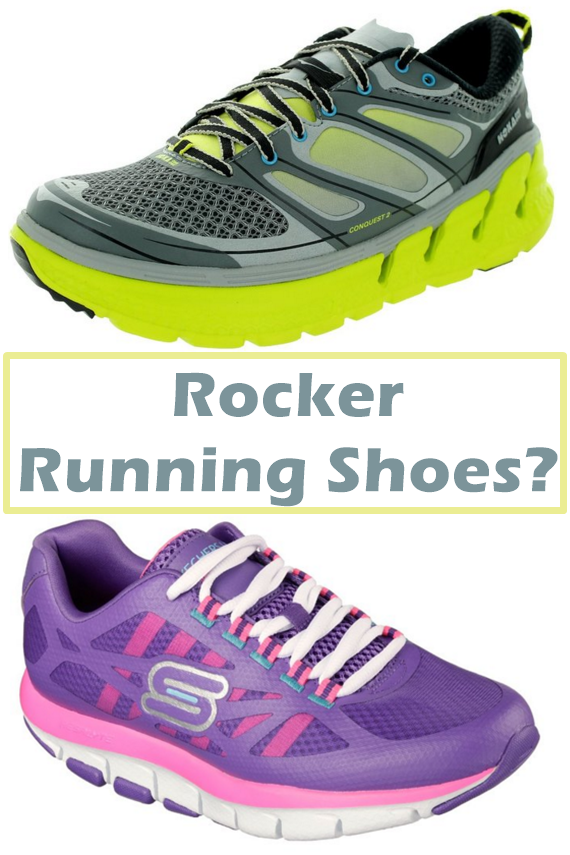 Rocker Running Shoes Drain Energy