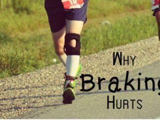 Brake Force in Heel Strike Running