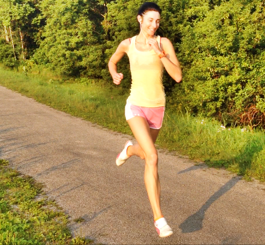 forefoot running reduces shock and body load