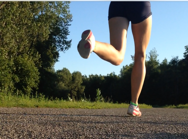 frustrated with forefoot running