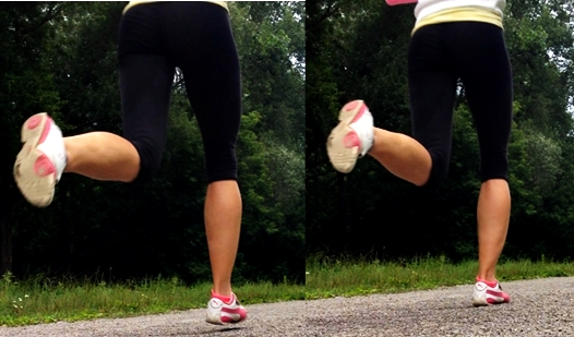 foot pronation in forefoot running