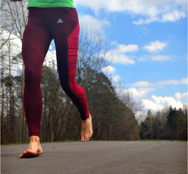 Forefoot Running Comes Naturally