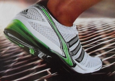 running shoes unsafe due to perceptual illusions