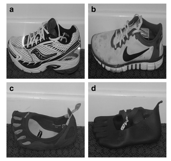 Nike Free vs Barefoot running shoes