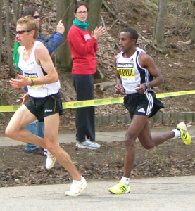 Leaning trunk posture of elite distance runners
