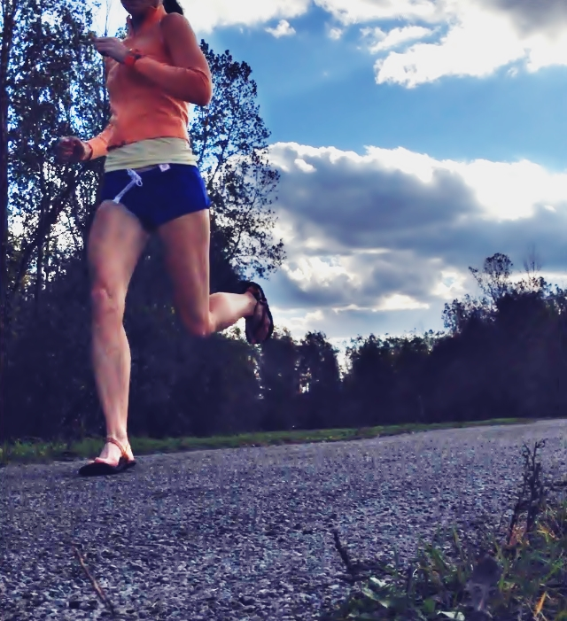 Sandals for forefoot running:  Earth Runners