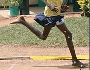Ethiopian marathon runners ran barefoot