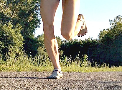 Forefoot Strike Helps Runners Achilles Tendonitis
