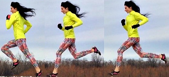 Run with a Forefoot Strike to Have a Higher Running Step Rate