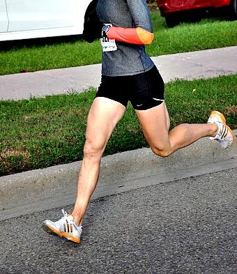 Low Step Frequency in Heel Strike Running
