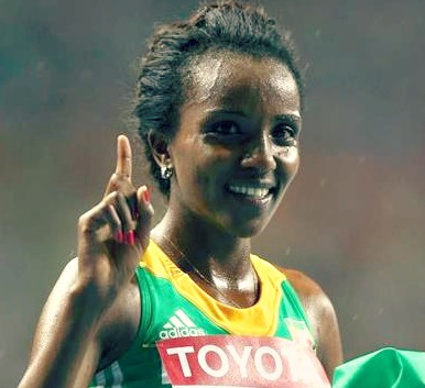Tirunesh Dibaba and Forefoot Running