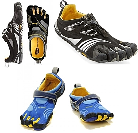 Vibram five fingers KMD Sport for forefoot running