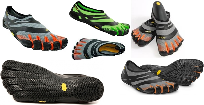 Vibram Five Fingers EL-X for forefoot running