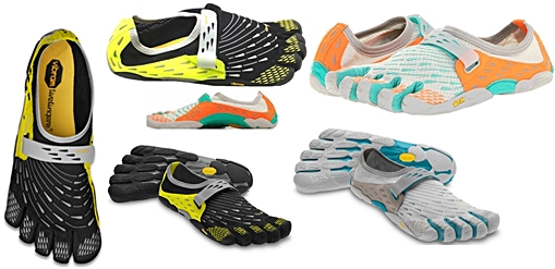 Vibram Five Fingers See Ya for forefoot running