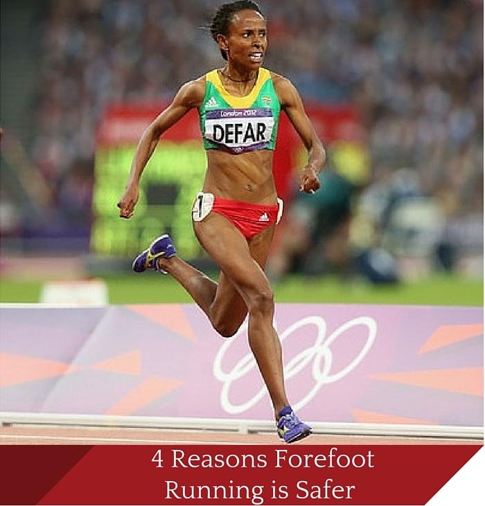 4 Reasons Forefoot Running is Safer than Heel Striking