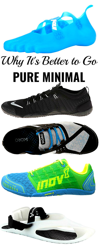 Always Go Pure Minimal When Learning Forefoot Running