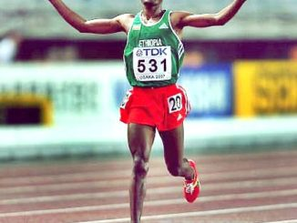 Research on Ethiopian Runners Forefoot Running Technique