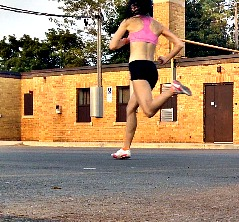 Lower Collision in Forefoot Running