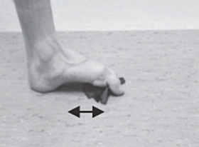 Toe Grabs Improves Foot Strength for Forefoot Minimalist Running
