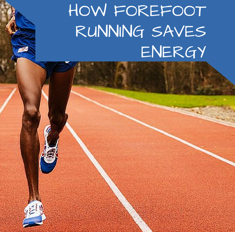 How Forefoot Running Saves Energy