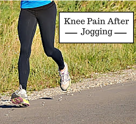 how to avoid knee pain after running