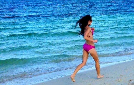 Running Barefoot Restores Balance