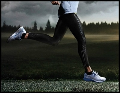 Stride Angle in Forefoot Running