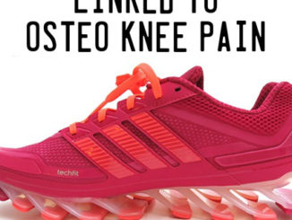 Cushioned Running Shoes Linked to Osteo Knee Pain