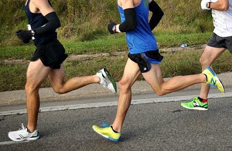 Heel pain when running