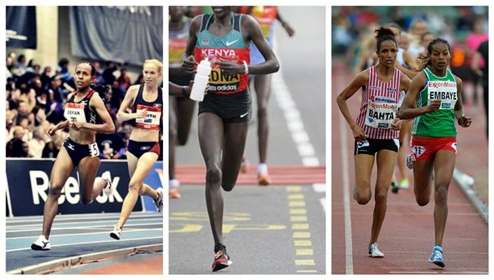 Runners who forefoot strike: Meseret Defar, Edna Kipligat