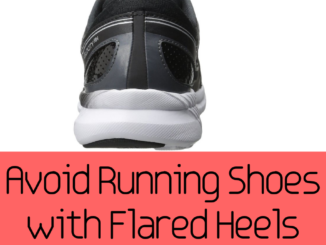 Flared Heeled Running Shoes Increase Ankle Movements
