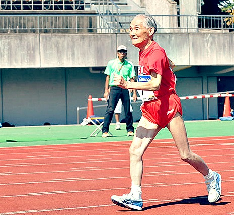 Age-Related Heel Pad Atrophy Makes Heel Strike Running Damaging for Older Runners