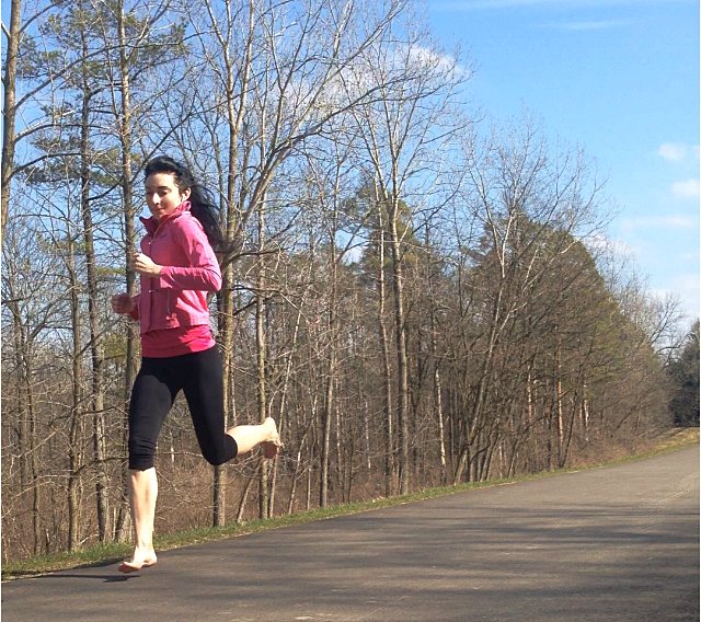 Running Barefoot Improved Ankle Biomechanics