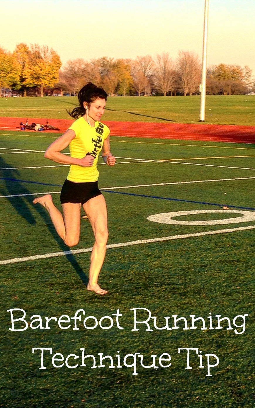 Barefoot Running Technique Tip
