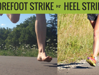 Heel Strike vs Forefoot Strike