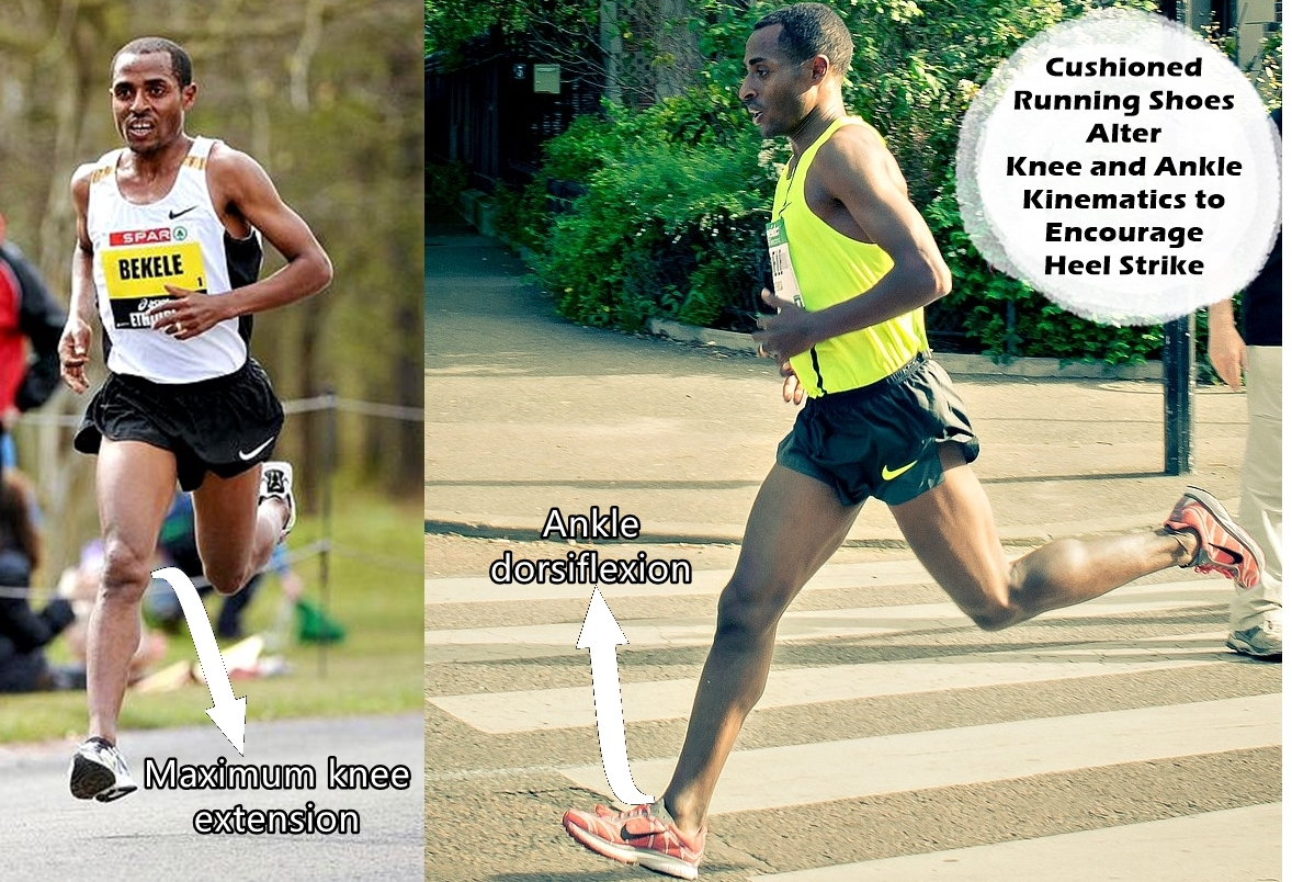Kenenisa Bekele Heel Striking